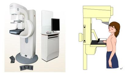 「マンモグラフィー 画像 機械」の画像検索結果